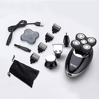 Electric Rechargeable Beard Trimmer Shaving Machine