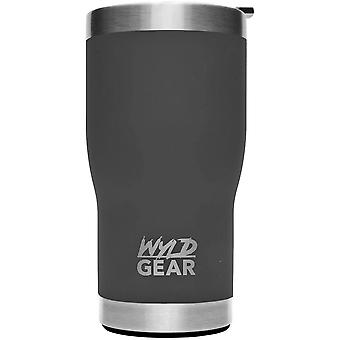 Wyld Gear 20 oz. Vacuum Insulated Stainless Steel Tumbler - Matte Gray