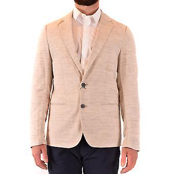 Antony Morato Ezbc147004 Blazer in cotone beige da uomo