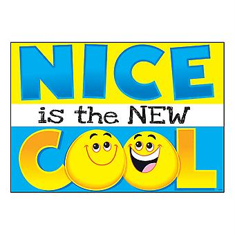 """Nice Is The New Cool Argus Poster, 13.375"""" X 19"""""""