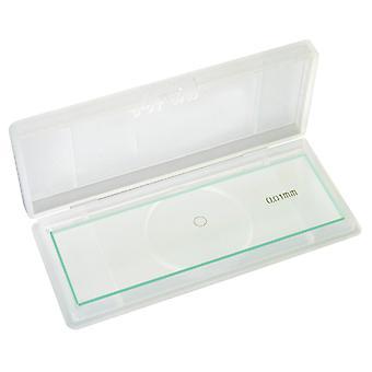 Bresser 5916710 accessoires microscope diapositives échelle micromètre 1/100 mm