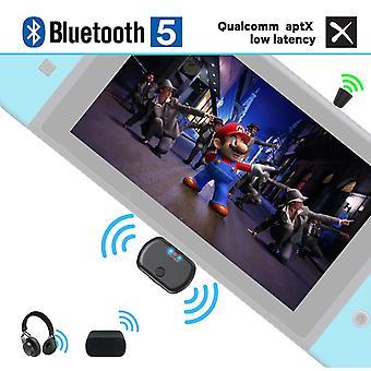 Golvery bluetooth 5.0 vysílač pro nintendo switch, plug&play USB typ-c audio adaptér pro wirele