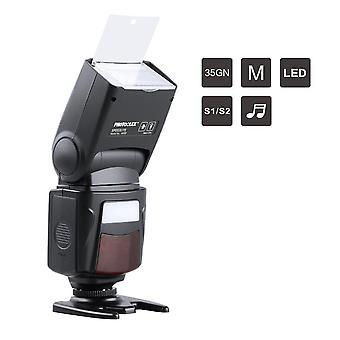 Photoolex m500 flash speedlite kaanon nikon sony panasonic olympus fujifilm pentax sigma minolta