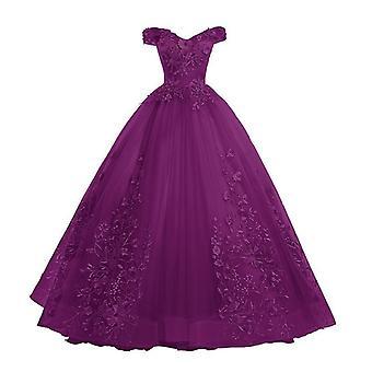 La robe de robe de bal d'épaule
