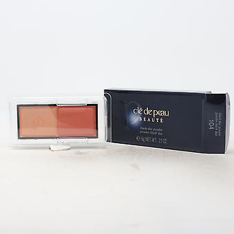 Cle De Peau Beaute Powder Blush Duo Refill  0.21oz/6g New With Box