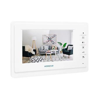 Homsecur Xm701 7 palcový vnútorný monitor pre video dvere telefón intercom systém