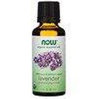 Now Foods, Aceites Esenciales Orgánicos, Lavanda, 1 fl oz (30 ml)