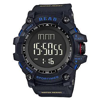LEES R90002 digitaal horloge multifunctioneel lichtgevend display mode stopwatch doub