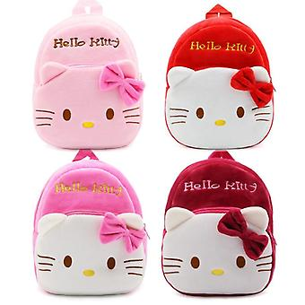 Cartoon Cute Baby Plush Mini School Bag