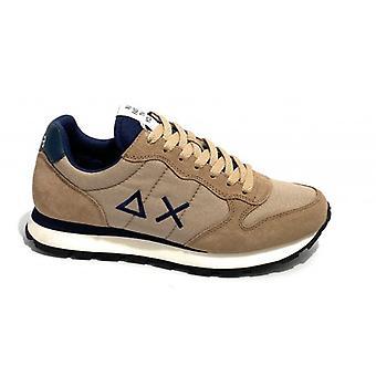 Running Sun68 Tom Solid Nylon/ Beige Suede/ Navy Blue U21su06 Sneaker