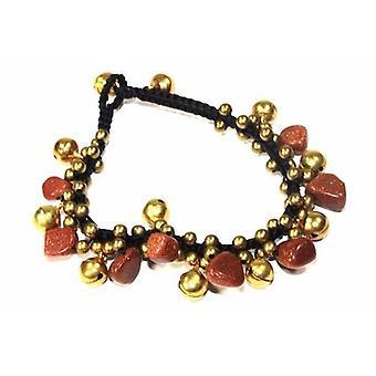 Sparkling Gold Tone Nymph Bracelet