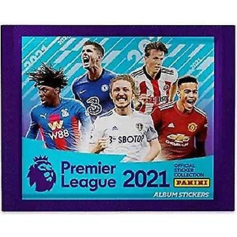 Panini's Premier League 2021 Sticker Collection - 10 Packs Supplied
