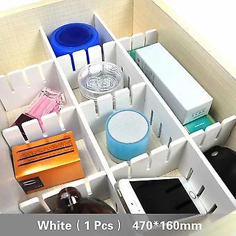 Diy Grid -laatikon jakaja, säädettävä taputuslevy, väliseinäkaappi, tallennustila