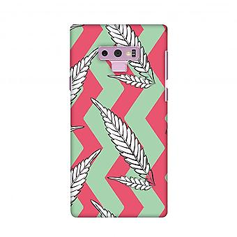 Along The Chevron - Pink And Pale Green Slim Hard Shell Case