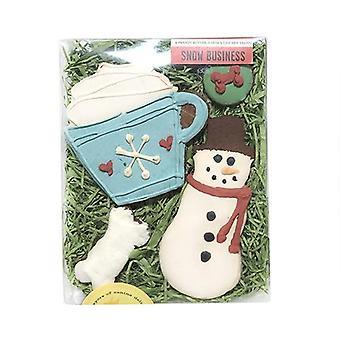 Caja de negocio de nieve
