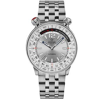 Gevril Wallabout Automatic Silver Dial Men's Watch 48560