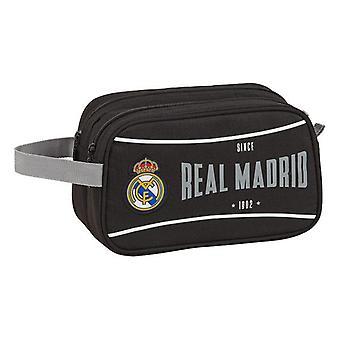 Koulun wc-laukku Real Madrid C.F. 1902 Musta