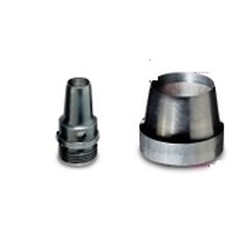 ベータ 011050044 1105 44 44 mm 中空パンチの磨かれたスチール製