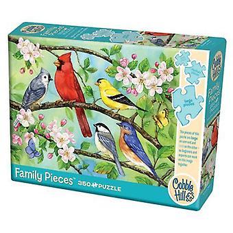 Mukulakivimäen palapeli - bloomin birds - 350 kpl