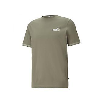 Puma vahvistettu Miesten Muoti Fitness Training T-paita Vetivier