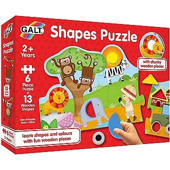 Galt Shapes Puzzle