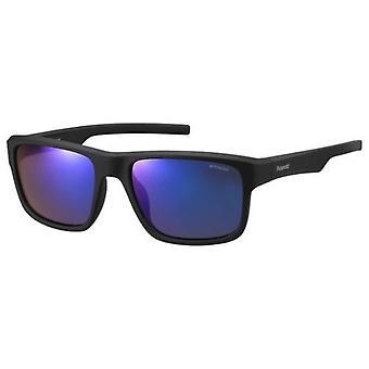 Polaroid PLD 3018/S JY Sunglasses, MATT BLACK, 55 Men's