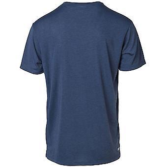 Rip Curl Zlicut VP kortärmad T-shirt i blått Indigo Marl