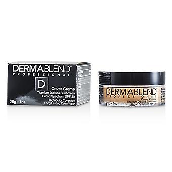 Dermablend Cover Creme Broad Spectrum SPF 30 (High Color Coverage) - Pale Ivory (Exp. Date 01/2022) 28g/1oz