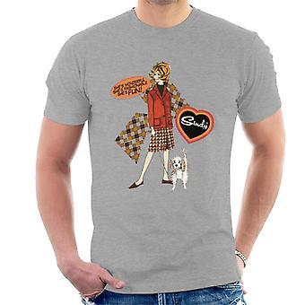 Sindy Wonderful Fashionable Fun Men's T-Shirt