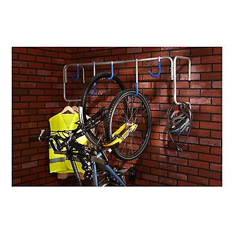 Mottez Storage 5 Bike Wall Mount Shelf Type
