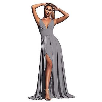 Brautjungfer Kleider, V-Ausschnitt Prom Kleider