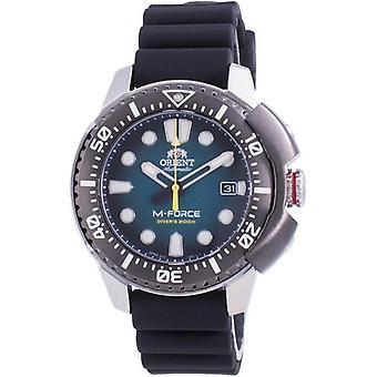 Orient M-force Automaattinen Diver's Ra-ac0l04l00b 200m Men's Watch