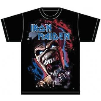 Iron Maiden Wildest Dream Vortex Mens T Skjorte: Stor