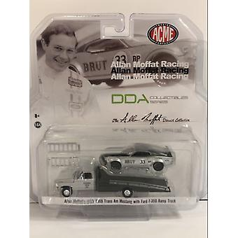 Allan Moffat Brut Trans AM Mustang Ford F-350 1:64 Scale ACME 51271