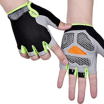 Men Fitness Exercise Anti Slip Weight Lifting Gloves