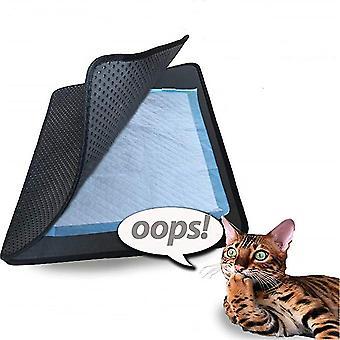 2 lagen kattenbakvulling Mat Pad Foam Trapper Pet Mat