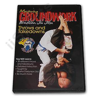 Maîtriser le travail préparatoire Jiu Jitsu lance des retraits #8 Dvd Lira -Vd7025A