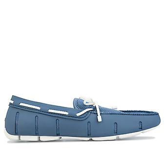 Men's Swims Braided Lace Loafer in Blue