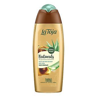 Shower Gel Naturals Kukui La Toja Aloe Vera Kukui oil (550 ml)