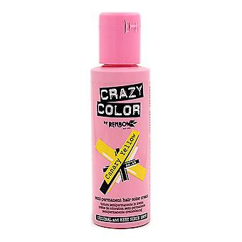 Permanent Dye Canary Yellow Crazy Color Nº 49 (100 ml)