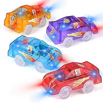 Track Cars With 5 Led Lights, Toy Racing Car