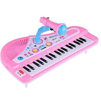キッド電子キーボードピアノオルガン楽器楽器37キーズ楽器おもちゃの赤ちゃんギフト