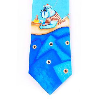 BiggDesign Fertility Fish Necktie, Cravate, Tissu de haute qualité, 7 Cm de largeur, Vêtements pour hommes