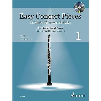 Easy Concert Pieces Band 1 Clarinet And Piano