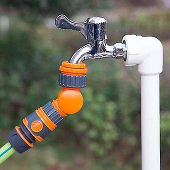 Gartenschlaucharmaturen Ventile Schnellverbinder drehbarer Wasserhahn splitter Bewässerungs- und Regelventil