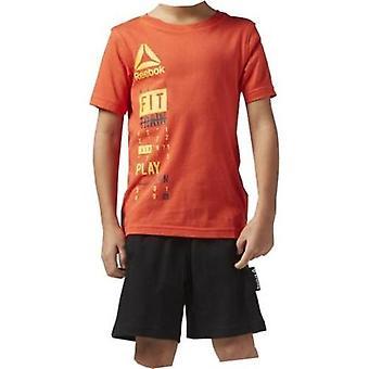 Children's Sports Outfit Reebok BK4380 Orange