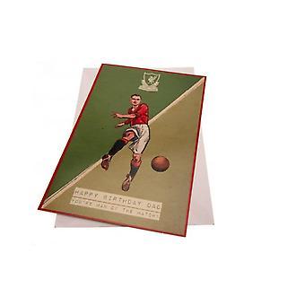Liverpool FC Kartka urodzinowa Tata Retro
