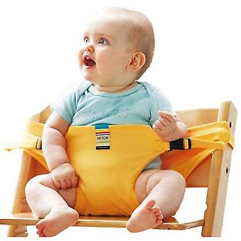Portable Baby Seat Kids Chair /cover Seat Saftety Belt Feeding High Chair
