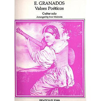 Valses Po�ticos Guitar Book Only