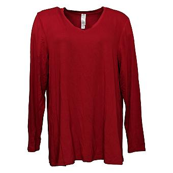 Marla Wynne Women's Top Modern Butterfly Tunic Red 624068X